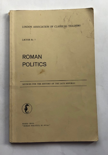 Image for Roman Politics :