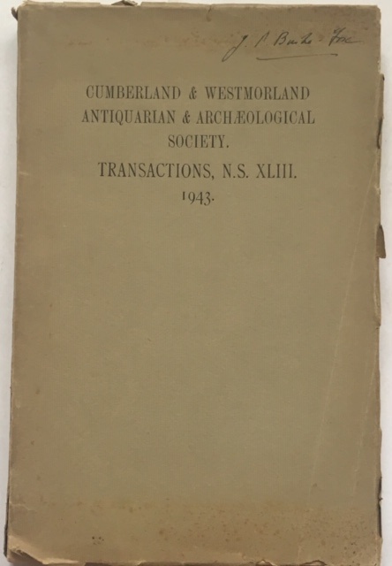 Image for Transactions of the Cumberland & Westmorland Antiquarian & Archaeological Society :Volume XLIII New Series