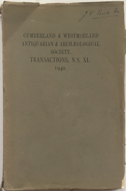Image for Transactions of the Cumberland & Westmorland Antiquarian & Archaeological Society :Volume XL New Series