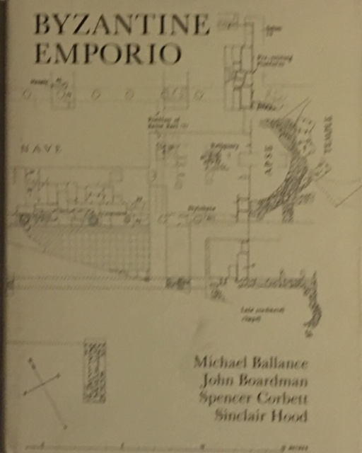 Image for Excavations in Chios 1952-1955, :Byzantine Emporio, Supplementary Volume no. 20