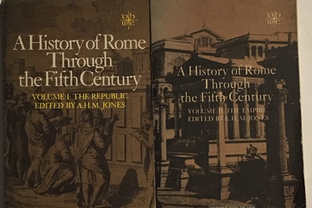 Image for A History of Rome Through the Fifth Century :Volume I The Republic & Volume II The Empire