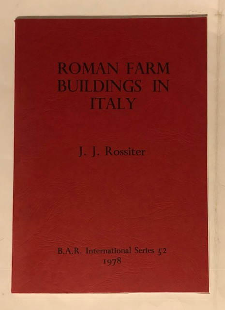 Image for Roman Farm Buildings in Italy :