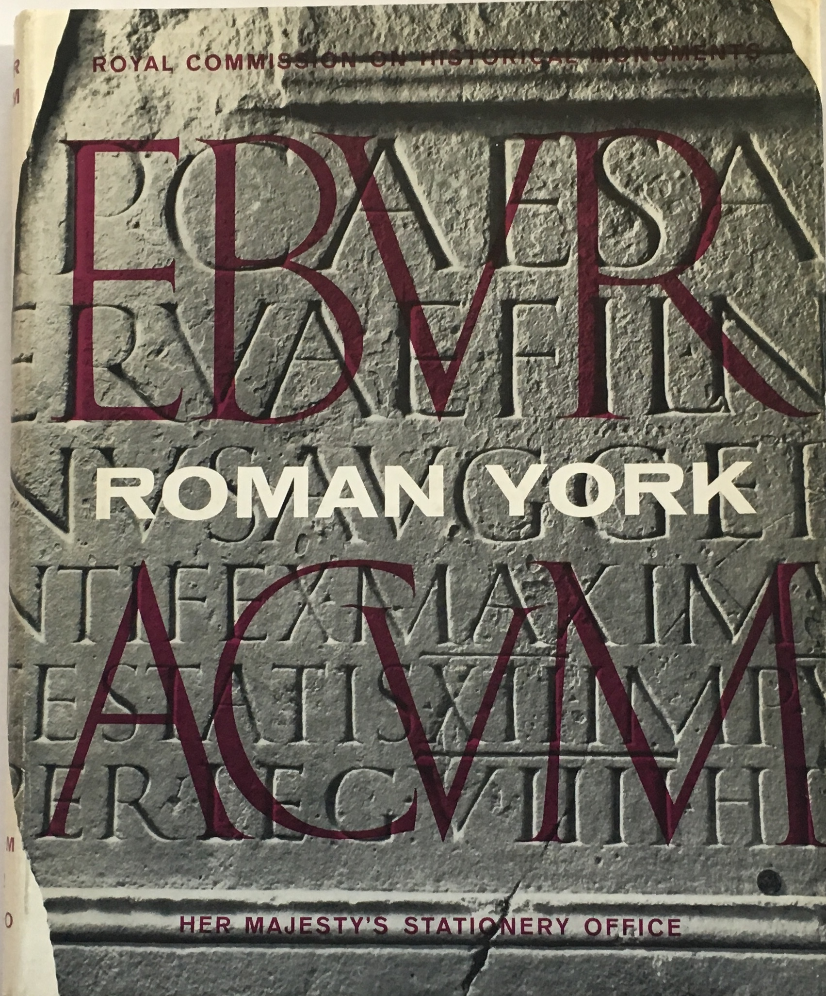 Image for Eburacum, Vol I. Roman York :
