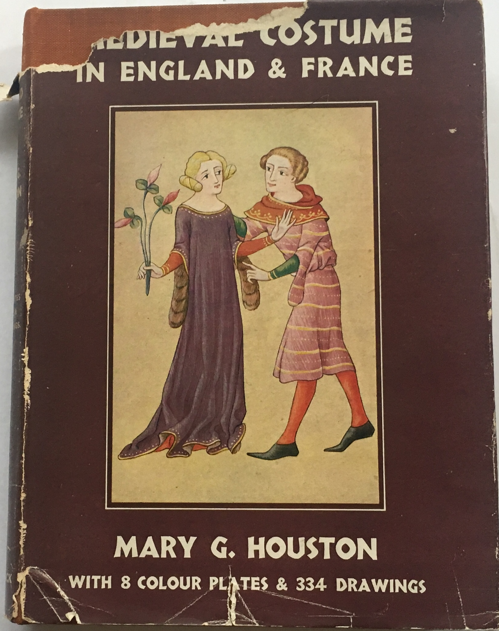 Image for Medieval Costume in England & France :