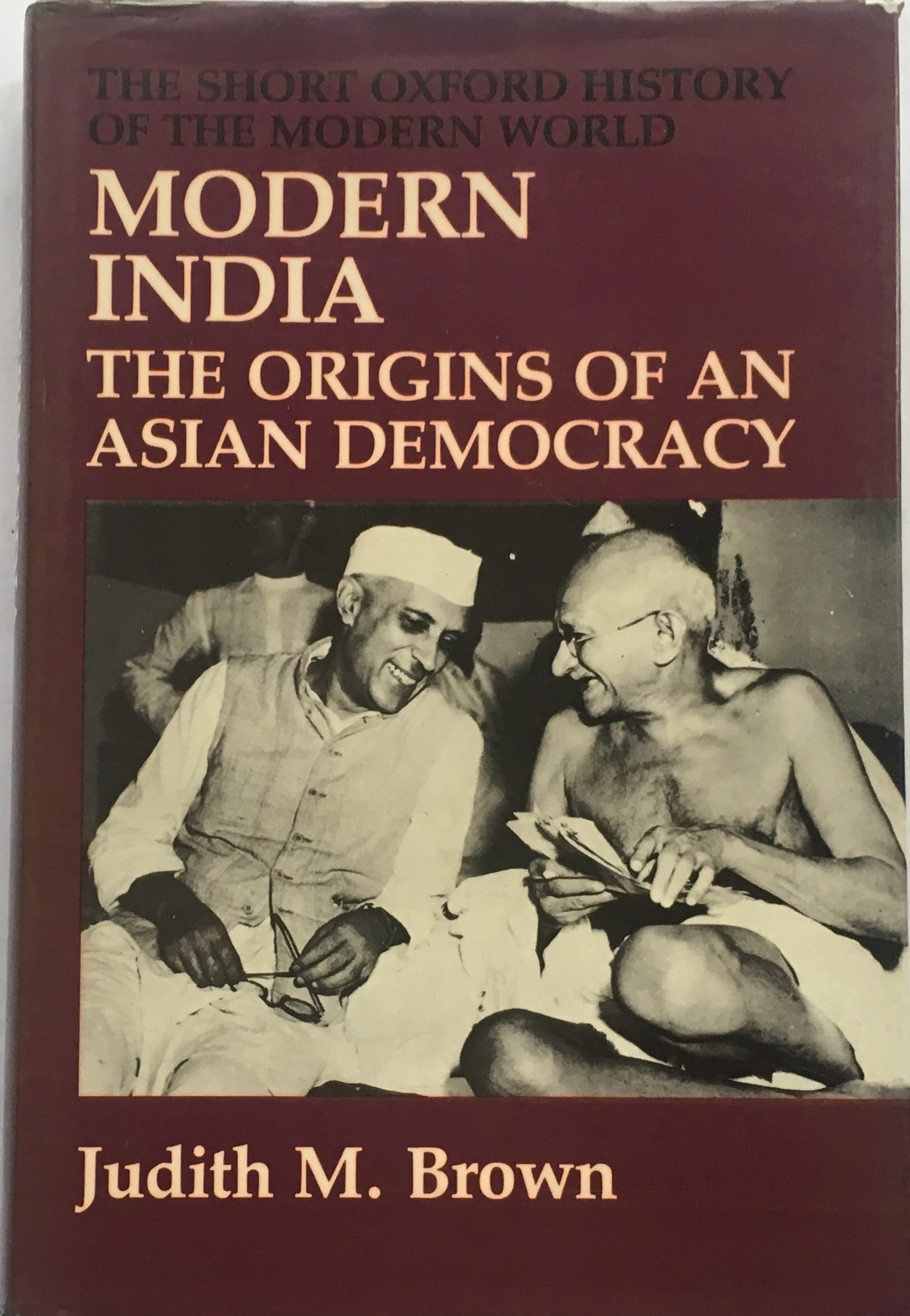 Image for Modern India :The Origins of an Asian Democracy