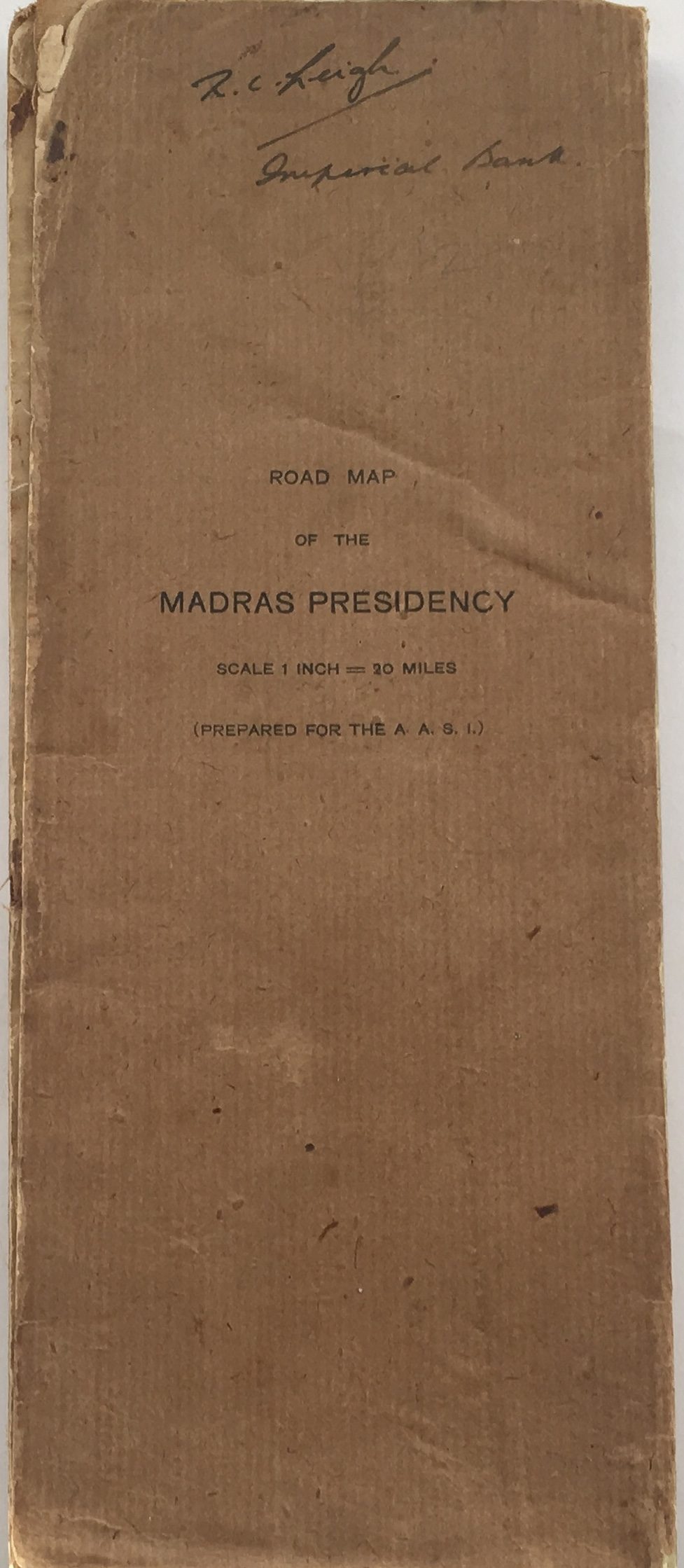 Image for Road Map of the Madras Presidency :Scale 1 inch = 20 Miles