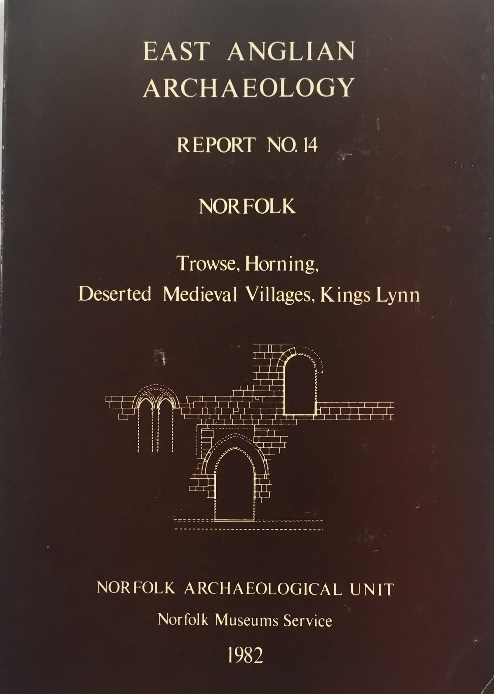 Image for Norfolk: Trowse, Horning, Deserted Medieval Villages, Kings Lynn :(EAA Report No. 14, 1982)