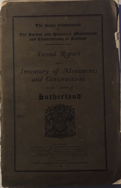 Image for Second Report and Inventory of Monuments and Constructions in the County of Sutherland :