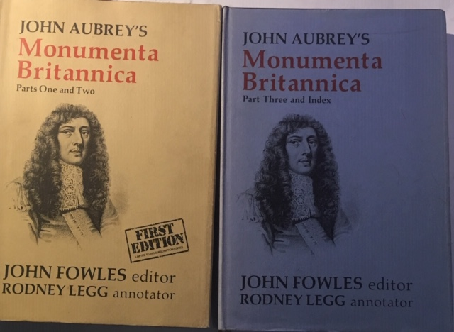 Image for John Aubrey's Monumenta Britannica (2 Vols) :Parts One and Two; Part Three and Index
