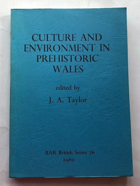 Image for Culture and Environment in Prehistoric Wales :Selected Essays