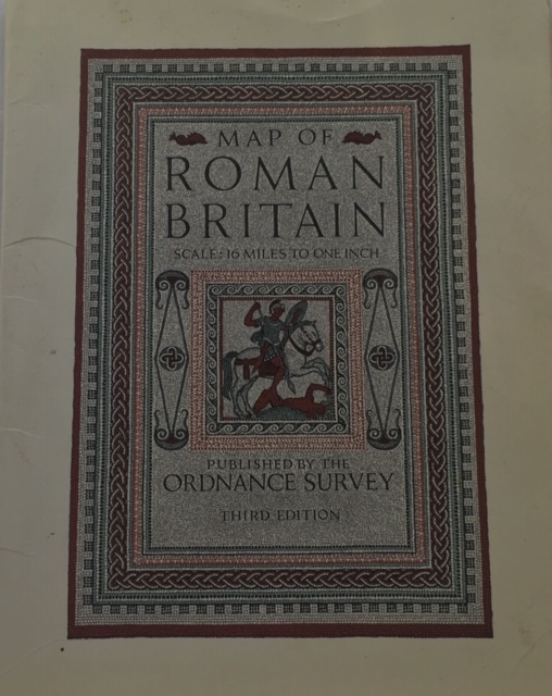 Image for Map of Roman Britain :Scale: 16 Miles to one Inch, 3rd edition