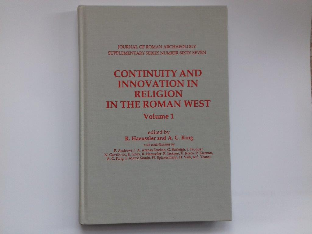 Image for Continuity and Innovation in Religion in the Roman West, Volume 1 :Volume 1