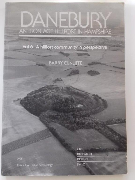 Image for Danebury - An Iron Age Hillfort in Hampshire :Volume 6, A hillfort community in perspective (Research Report 102)