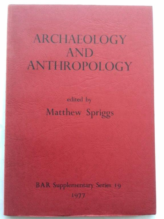 Image for Archaeology and Anthropology :