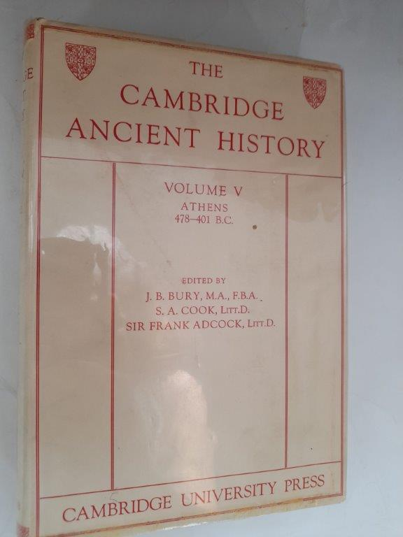 Image for The Cambridge Ancient History :Volume V - Athens 478-401 B.C.