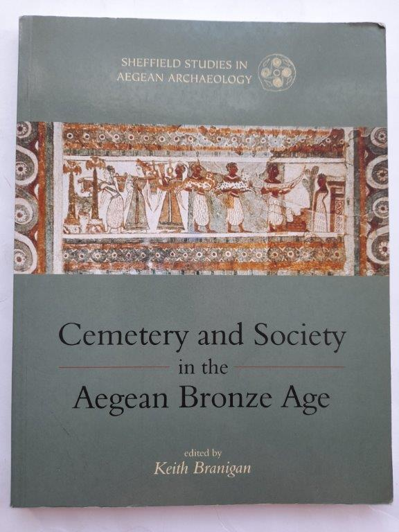 Image for Cemetery and society in the Aegean Bronze Age :