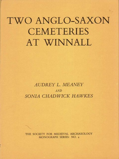 TWO ANGLO-SAXON CEMETERIES AT WINNALL, :