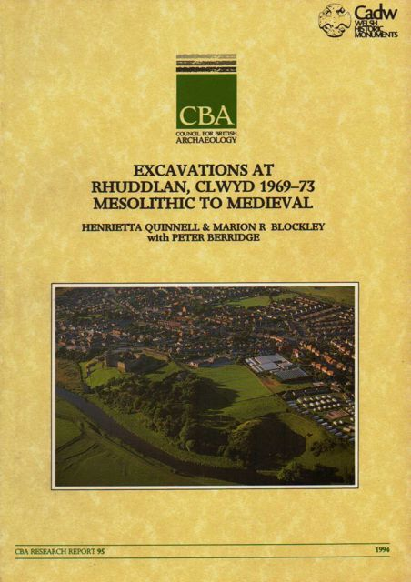 Excavations at Rhuddlan, Clwyd, 1969-73 :Mesolithic to Medieval