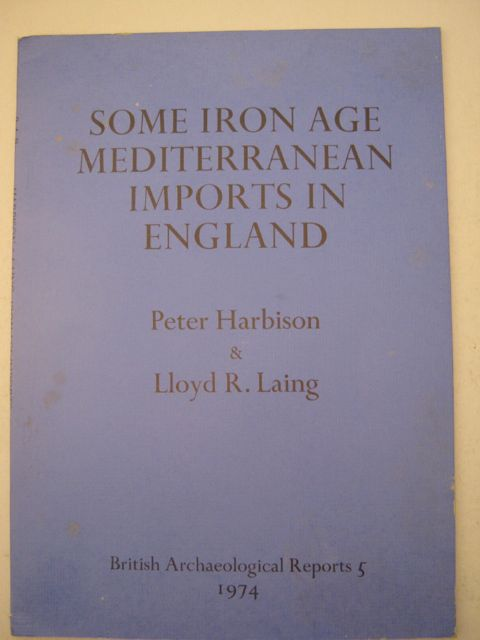 Some Iron Age Mediterranean Imports in England :
