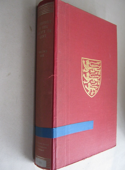 The Victoria History of the County of Kent, Volume One (Victoria County History) :, Page W (ed)
