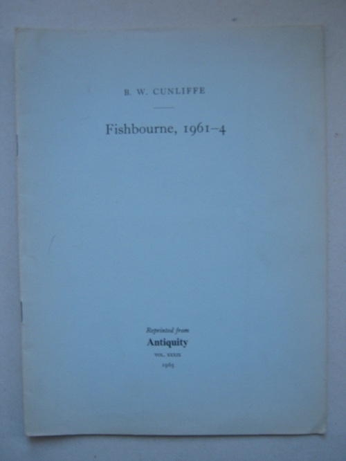 Fishbourne, 1961-4 :, Cunliffe, Barry ;
