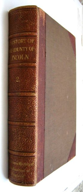 THE VICTORIA HISTORY OF THE COUNTY OF LINCOLN, VOLUME TWO,, Page, William (ed)