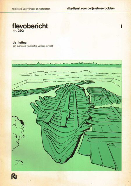 FLEVOBERICHT NR. 292: De 'Lutina', een Overijssels Vrachtschip, vergaan in 1888, Ministerie van Verkeer en Waterstaat