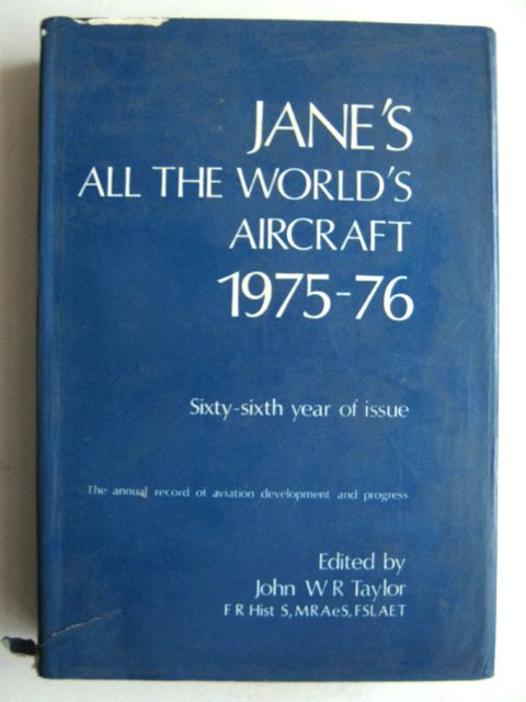 Jane's all the World's Aircraft 1975-76, Taylor, John W R