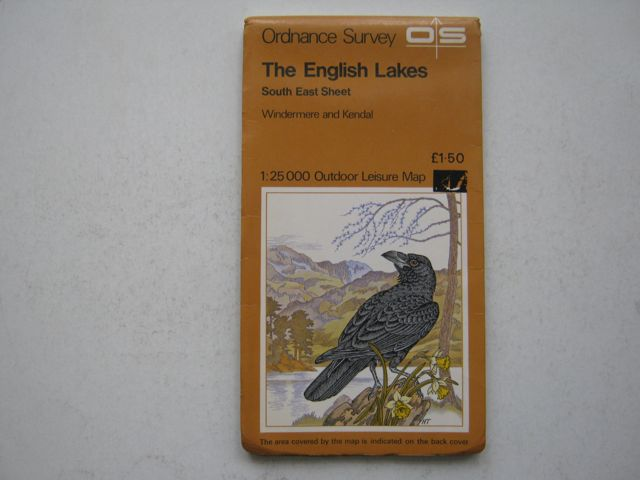 The English Lakes: Southeast Sheet, Windermere and Kendal, :Ordnance Survey Outdoor Leisure Map, 1:25000, Anon ;
