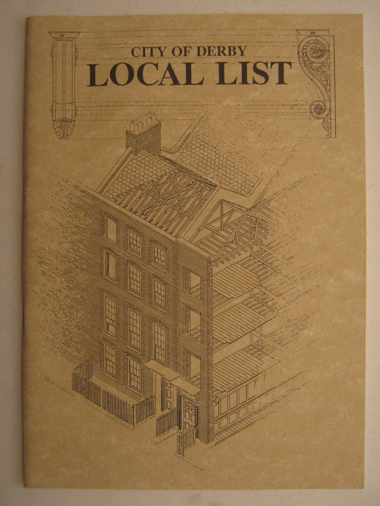 City of Derby: Local List, Department of Development Services, Derby City Council