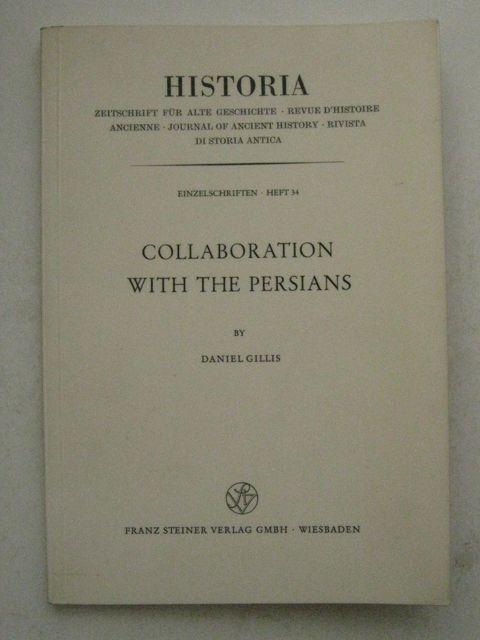 Collaboration with the Persians :, Gillis, Daniel ;
