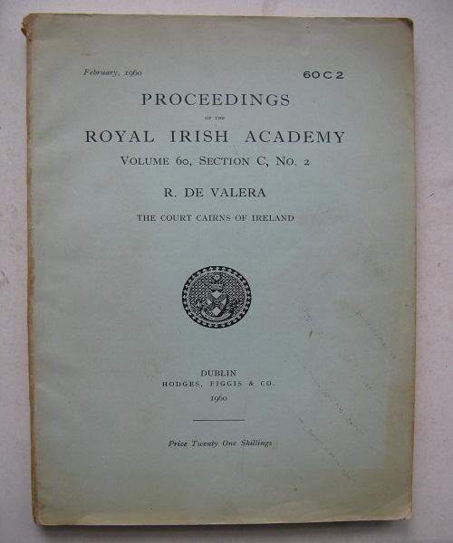 Proceedings of the Royal Irish Academy :Volume 60, Section C, No. 2