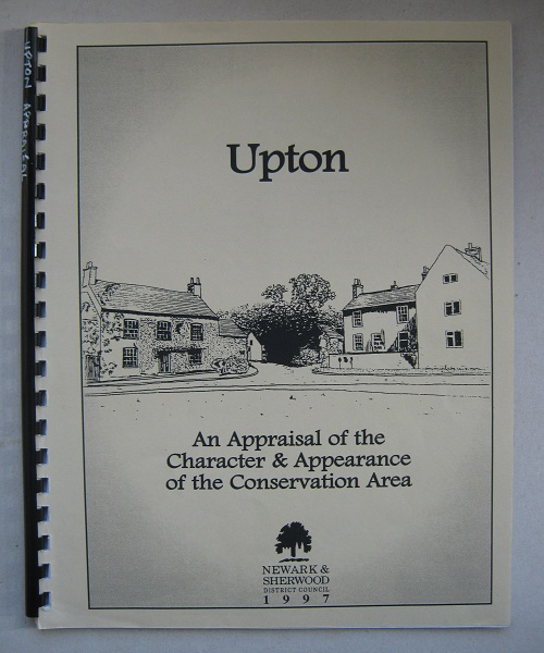 Upton :An Appraisal of the Character & Appearance of the Conservation Area, Anon