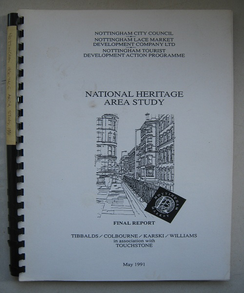 National Heritage Area Study :Final Report, Anon