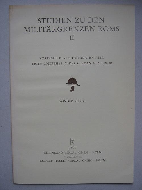 Die Nijmegener Legionslager Seit 70 Nach Christus :, Bogaers J E & Haalebos J K