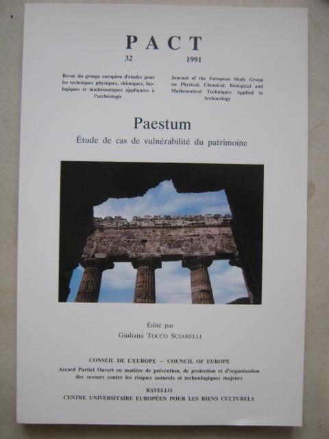 Paestum - Etude de cas de vulnerabilite du patrimoine :PACT 32