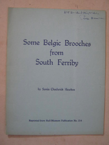 Some Belgic brooches from south Ferriby :(Reprinted from Hull Museum Publications no. 214)