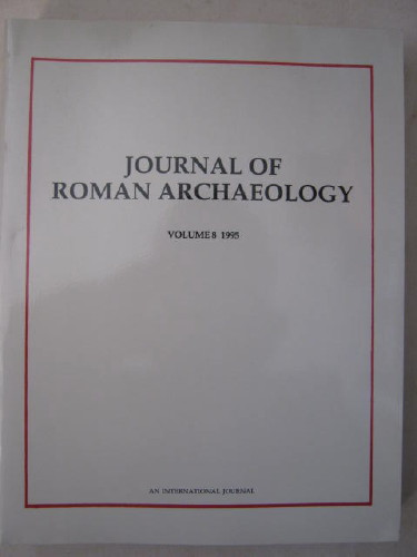 Journal of Roman Archaeology :Volume 8 1995