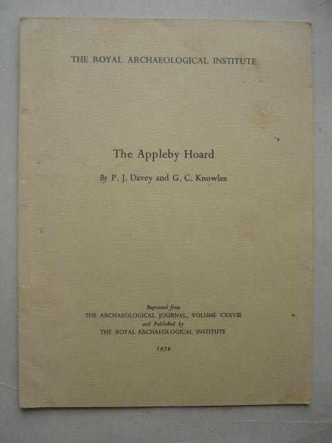 The Appleby Hoard :, Davey, P. J. ;Knowles, G. C.