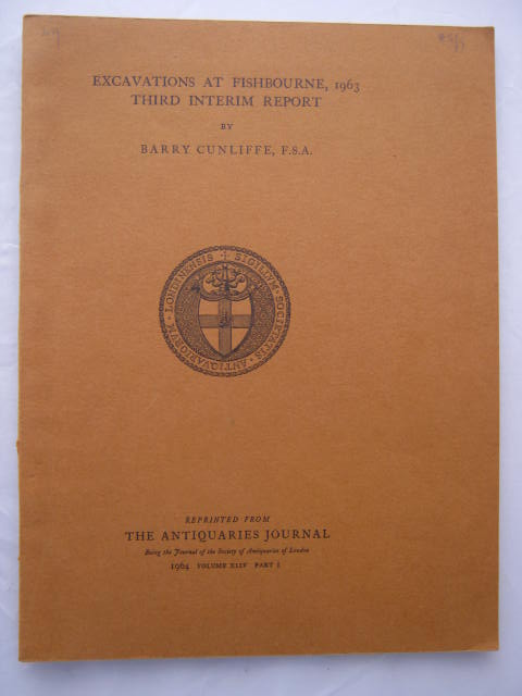 Excavations at Fishbourne, 1963: third interim report :, Cunliffe, Barry ;