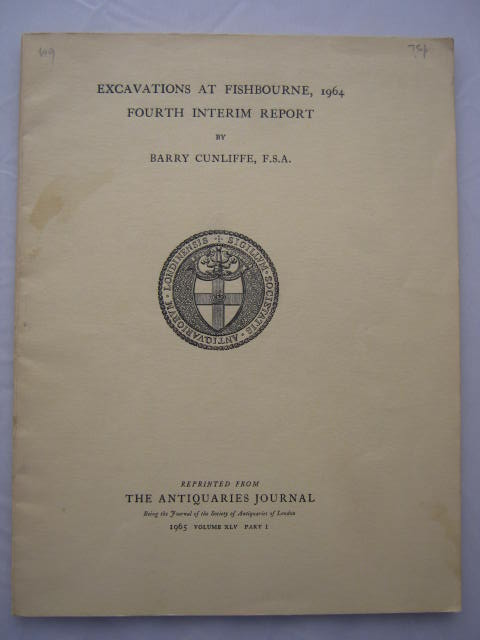 Excavations at Fishbourne, 1964: fourth interim report :, Cunliffe, Barry ;