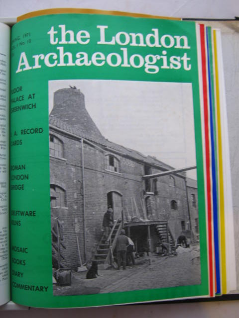 The London Archaeologist, Spring 1971, Vol. I, No. 10 :