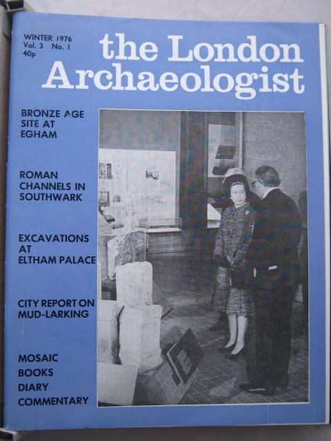 The London Archaeologist, Winter 1976, Vol. III, No. 1 :, Orton, Clive ;(ed)