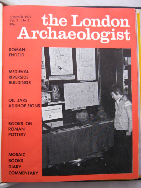 The London Archaeologist, Summer 1977, Vol. III, No. 3 :, Orton, Clive ;(ed)