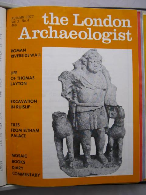 The London Archaeologist, Autumn 1977, Vol. III, No. 4 :, Orton, Clive ;(ed)