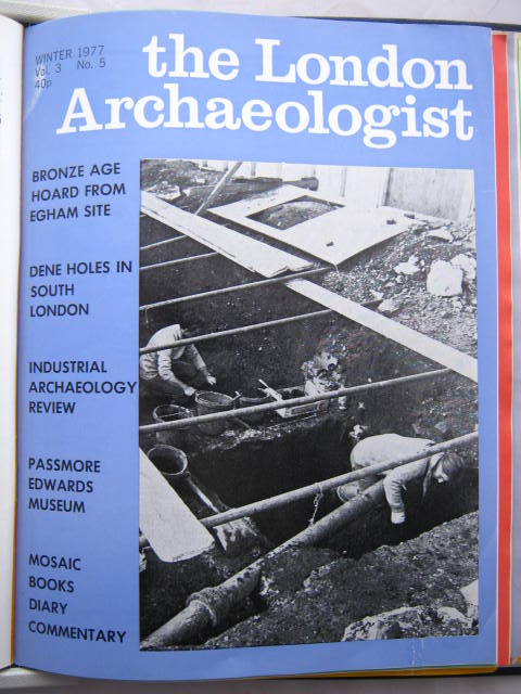 The London Archaeologist, Winter 1977, Vol. III, No. 5 :, Orton, Clive ;(ed)