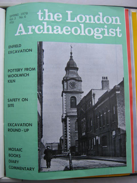 The London Archaeologist, Spring 1978, Vol. III, No. 6 :, Orton, Clive ;(ed)