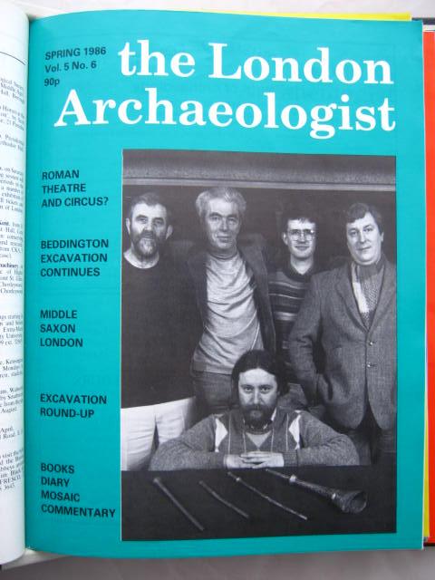 The London Archaeologist, Spring 1986, Vol. V, No. 6 :