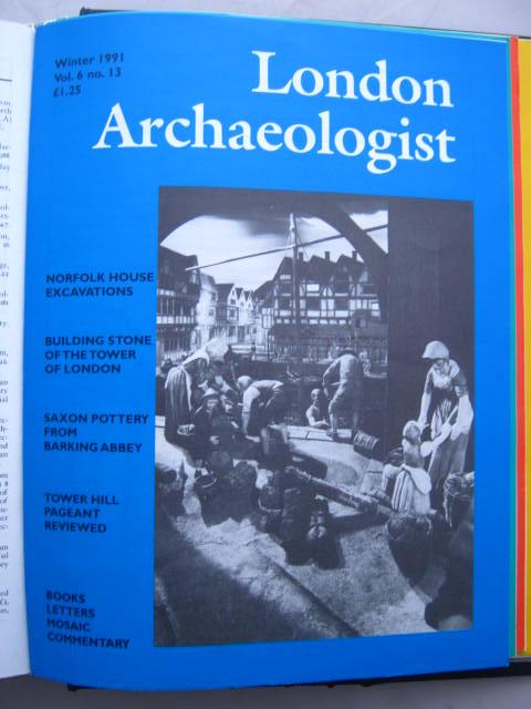 The London Archaeologist, Winter 1991, Vol. VI, No. 13 :, Orton, Clive ;(ed)