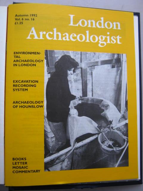 The London Archaeologist, Autumn 1992, Vol. VI, No. 16 :, Orton, Clive ;(ed)